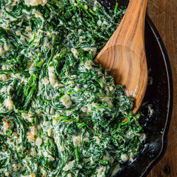 SILLY INSANE CREAMED SPINACH